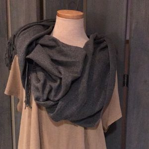 Accessories - Soft Gray Scarf